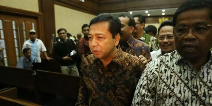 Tak Mau Mundur, Tersangka KPK Lagi, Novanto Diminta Mundur dari Ketua DPR