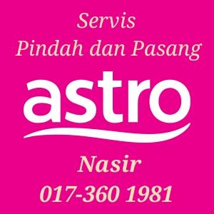 Servis Pindah dan Pasang Astro, daftar Astro baru dan lain-lain perkhidmatan berkaitan Astro