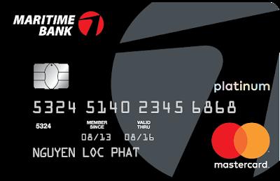 Thẻ tín dụng Maritime Bank Platinum là gì? Tính năng ra sao?