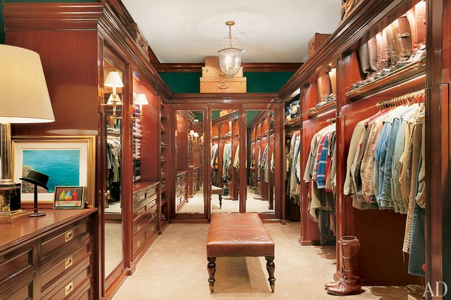 Ralph Lauren luxury fantasy closet