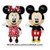 Balon Foil Mickey Minnie Mouse Hallo