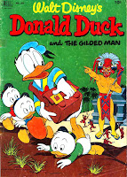 Donald Duck / Four Color Comics v2 #422 - Carl Barks 1940s comic book cover art
