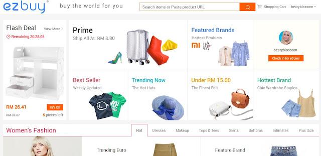 Taobao Shopping lebih mudah dengan Ezbuy.