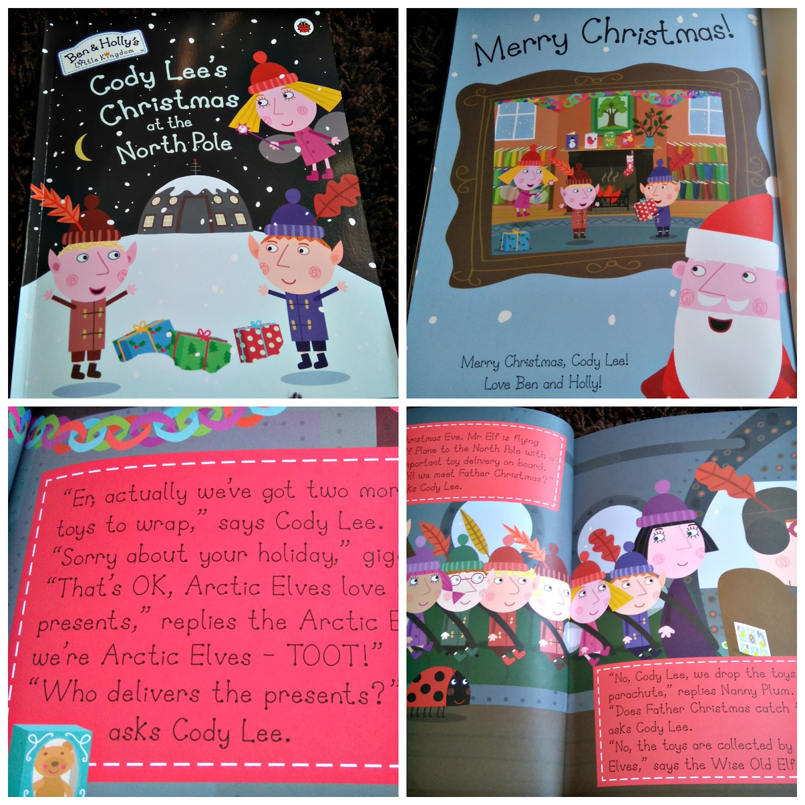 bring books to life by including your little ones in the stories with their favourite tv characters we were sent this fab new ben and holly christmas - Ben And Holly Christmas