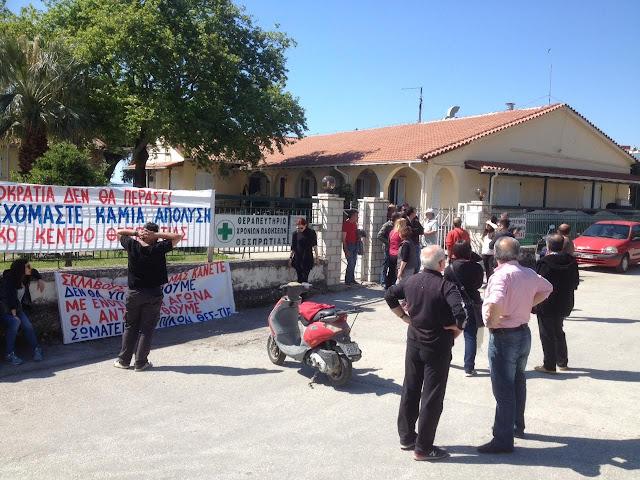 Κινητοποίηση στο γηροκομείο Ηγουμενιτσας για την απόλυση καθαρίστριας