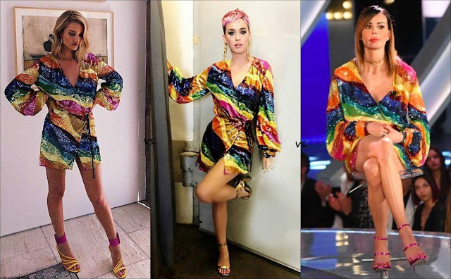 👗Rosie Huntington Whiteley vs Katy Perry vs Nina Moric