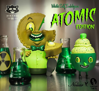 Mister Self Indulgence Atomic Edition Vinyl Figure by Nouar x Martian Toys x Strangecat Toys