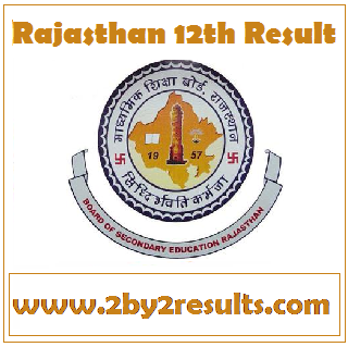 Rajasthan 12th result 2018 - RBSE 12th result 2018 for Arts Commerce Science