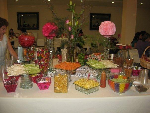 Caramelo mesa dulces postres mesa de dulces o candies for Mesas de dulces para bodas precios