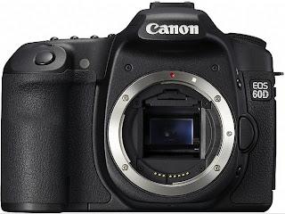 Cãmera digital Canon EOS 60D
