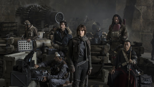 'Star Wars: Rogue One' Official Movie Cast Photo from D23 Expo