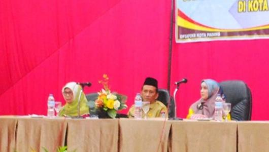 DP3AP2KB Padang Gelar Sosialisasi Pengarustamaan Gender