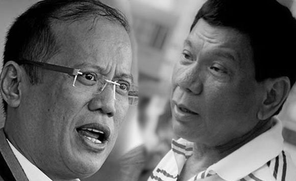 Duterte backfires PNoy, says he's no dictator