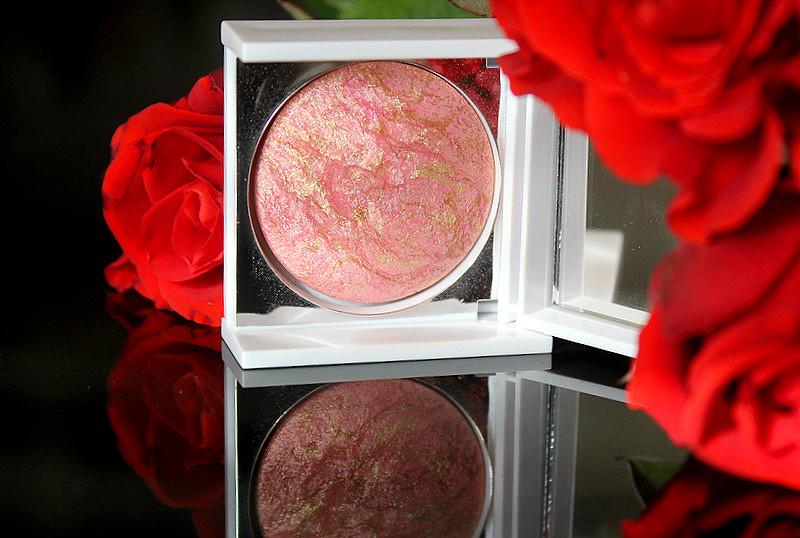 Компактная шиммерная пудра (#коралл) New CID Cosmetics Compact Shimmer Powder i-Glow #Coral Crush  / отзывы