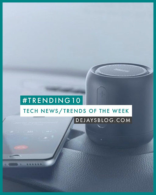 #TRENDING10 - Top 10 Tech News / Trends of the Week #4 (January 2020)