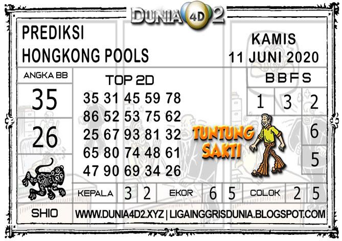 Prediksi Togel HONGKONG DUNIA4D2 11 JUNI 2020