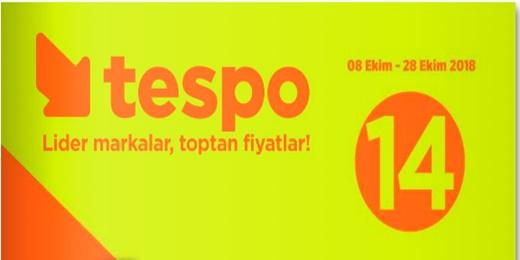 Tespo 8 Ekim - 28 Ekim Aktüel Kampanya Kataloğu