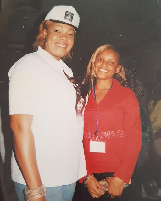 Beautiful throwback photo of Chinyere Wilfred and Shirley Igwe