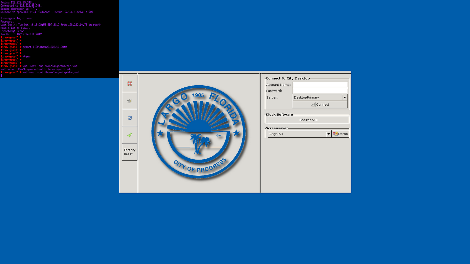 Dave Richards - City of Largo Work Blog: Ubuntu Thin Client