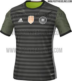 Berita bocoran jersey Jerman away Euro 2016 di enkosa sport toko online terpercaya lokasi di jakarta