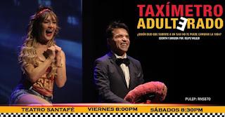 Taxímetro adulterado Teatro Santa Fe 2