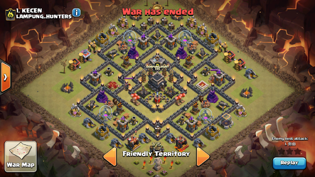 Base War Th 9 Paling Susah Ditembus 2019 7