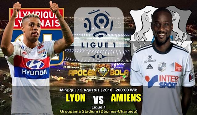 Prediksi Olympique Lyonnais Vs Amiens SC 12 Agustus 2018
