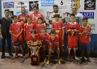 Final do Campeonato de Futsal de Base em Miracatu