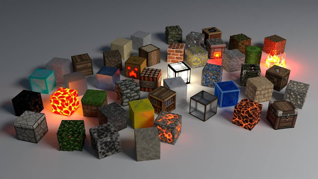 Cubes shape glow background hd 1600x900
