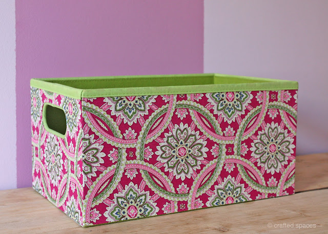 Crafted Spaces Pattern Storage Boxes