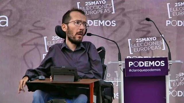 Pablo Iglesias propone a Pablo Echenique como nuevo secretario de Organización de Podemos
