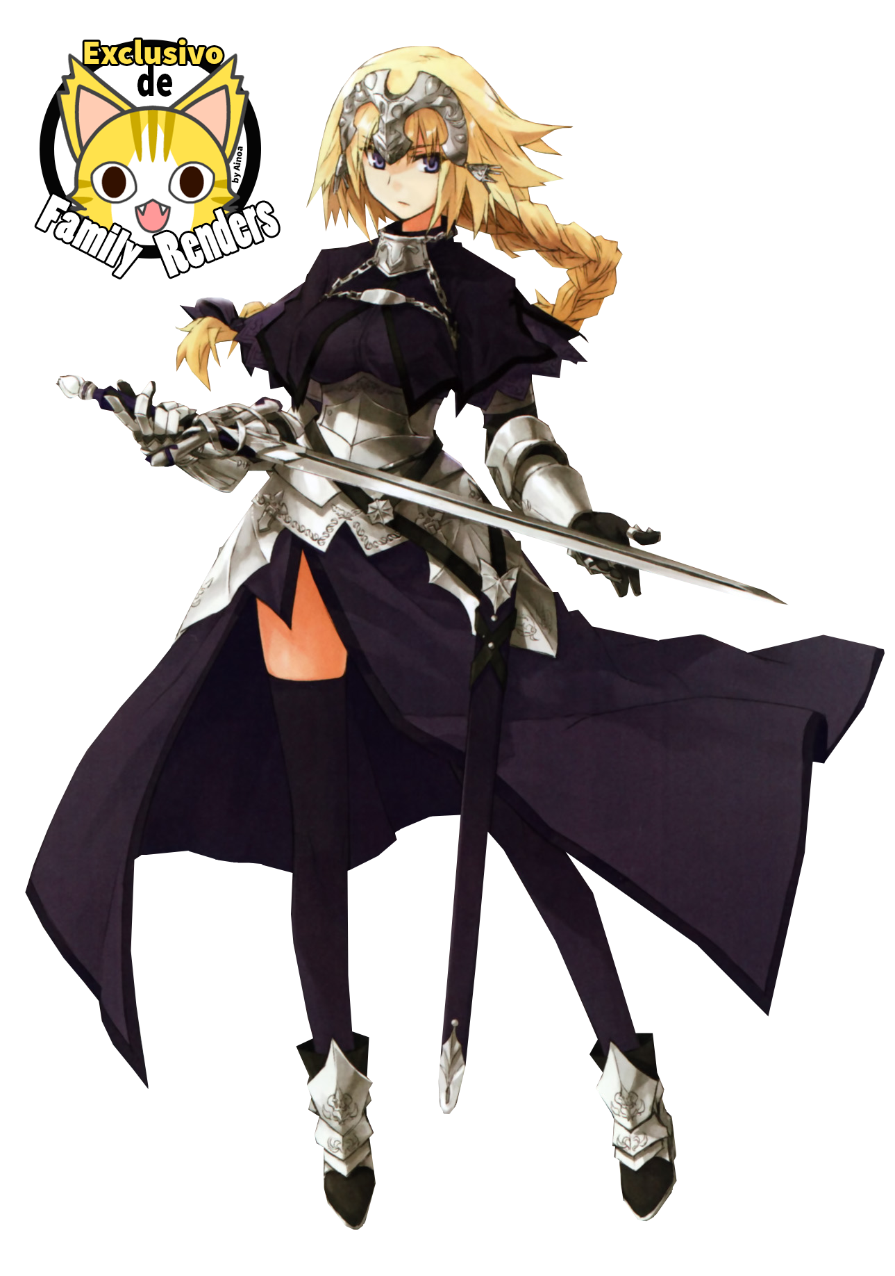PNG-Joan of Arc // Fate/Apocrypha