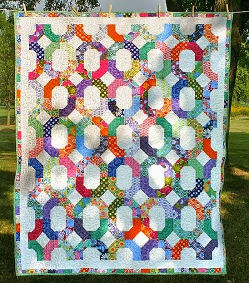 Cross-Terrain Quilt  - Tutorial