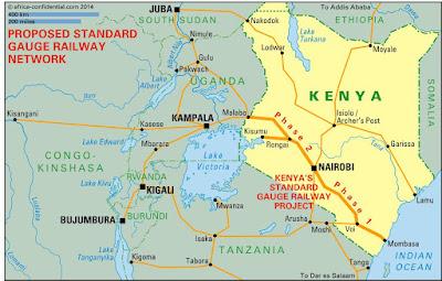 Ferrocarriles en África y geopolítica de China