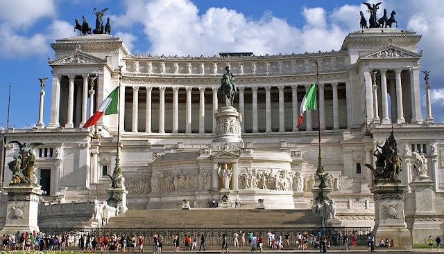 Monumento a Vítor Emanuel II em Roma