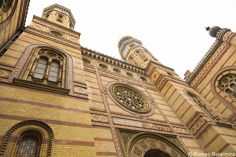 Dohány Street Synagogue Exterior What to Do in Budapest in One Day