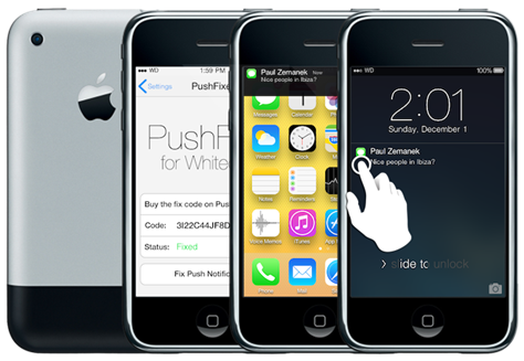 Download and Install iOS 7.1, 7.0 on Unsupported iPhone 3G, 2G, iPod 2G,1G