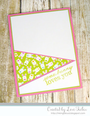 Somebunny Loves You card-designed by Lori Tecler/Inking Aloud-stamps from Mama Elephant