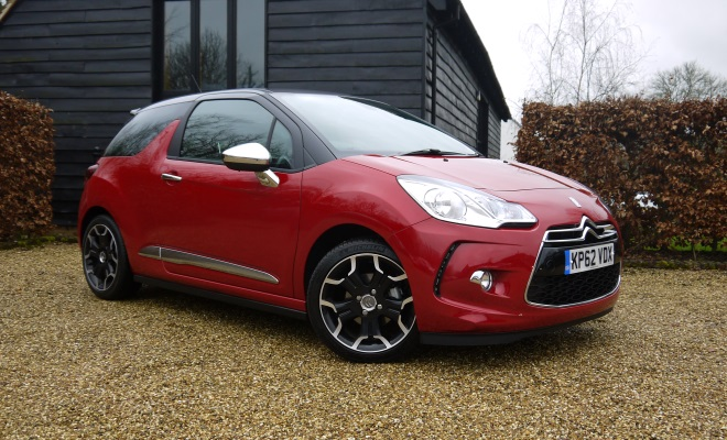 Citroen DS3 front view