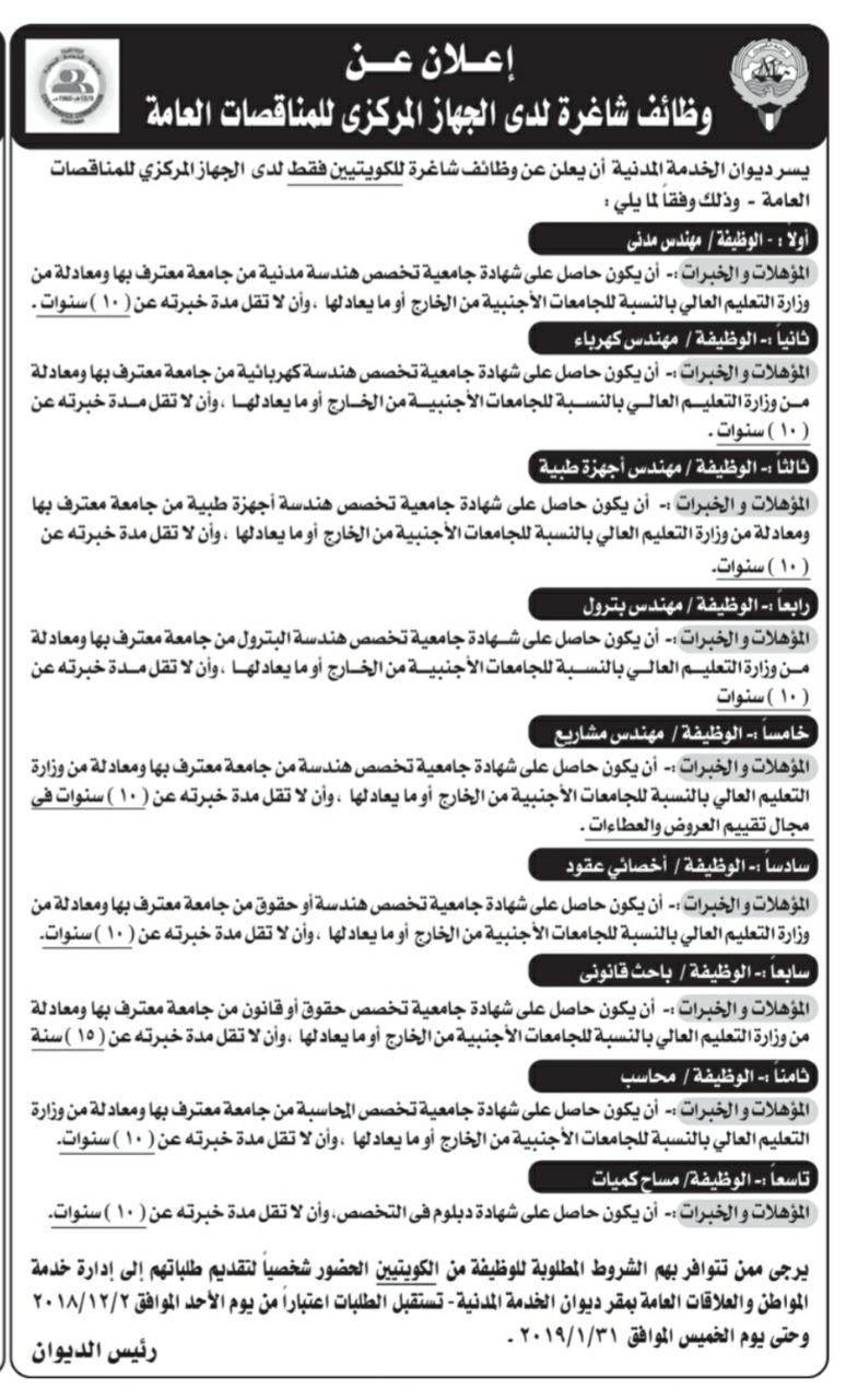 باب التوظيف الكويتي
