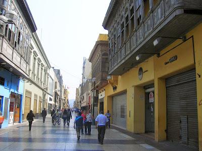 Jirón de la Unión, Lima, Perú, La vuelta al mundo de Asun y Ricardo, round the world, mundoporlibre.com
