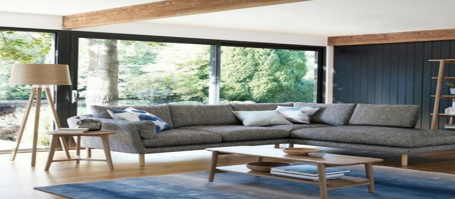 Buat Living Room Bukaan Jendela Besar