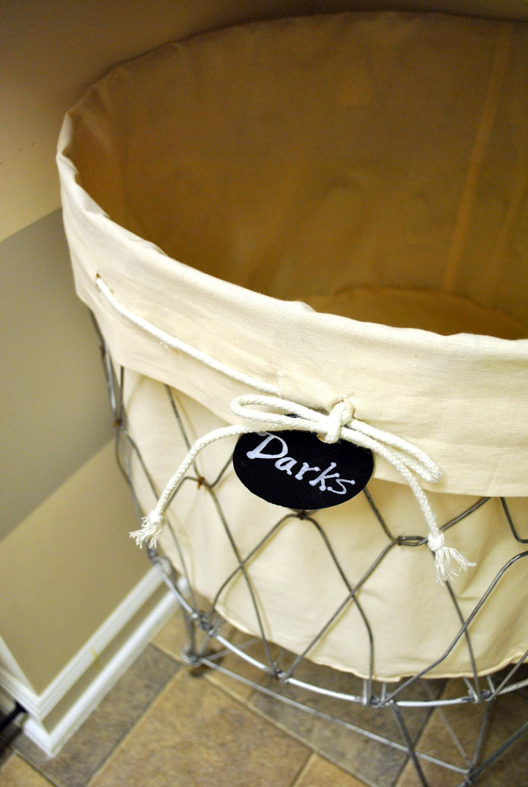 Separate Laundry Basket Sophia 39s How To Make A Vintage Laundry Cart Liner