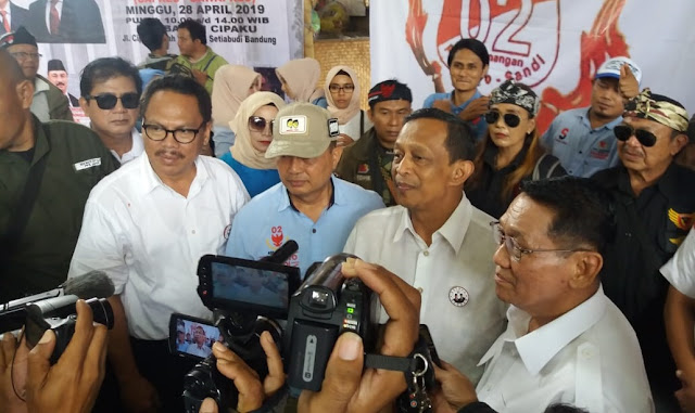 Relawan Prabowo Sandi Gelar Syukuran Kemenangan di Bandung