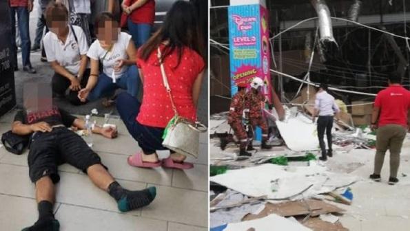 Punca Letupaan Di City One Megamall Kuching Didedahkan. Rakaman Selepas Letupaan Menjadi Tular
