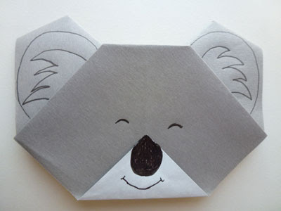 Resultado de imagen de papiroflexia español Koala