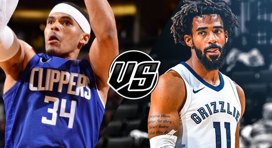 Live Streaming List: LA Clippers vs Memphis Grizzlies 2018-2019 NBA Season
