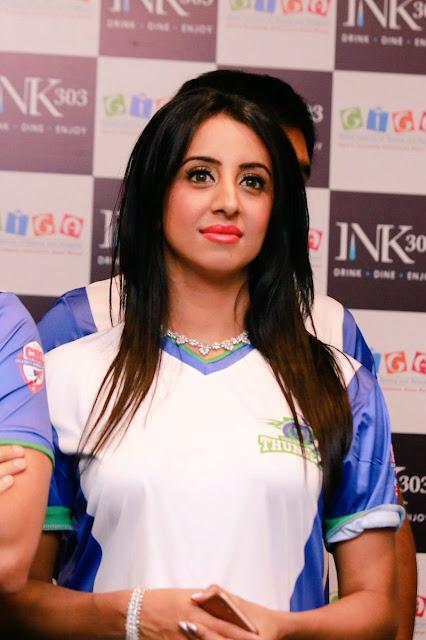 Sanjana at Celebrity Badminton League Launch Photos