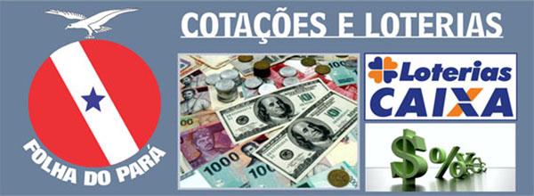 COTAÇÕES BOVESPA – COTAÇÕES MOEDA – LOTERIAS - CONFIRA COTAÇÃO ATUALIZADA 03/09/2015 QUINTA-FEIRA
