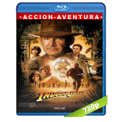 Indiana Jones 4 (2008) BRRip 720p Audio Trial Latino-Castellano-Ingles 5.1